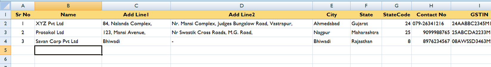 Party Ledger