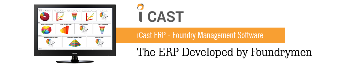 iCast ERP - Foundry Management Software